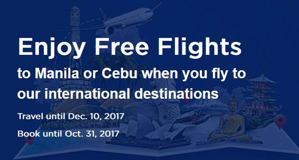 Philippine Airlines Free Flights Promotion